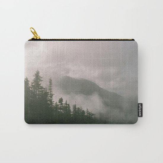 Foggy Forest (Squamish, British Columbia, Canada) Carry-All Pouch