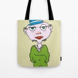 man w an attitude Tote Bag