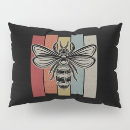 Vintage Bee Pillow Sham