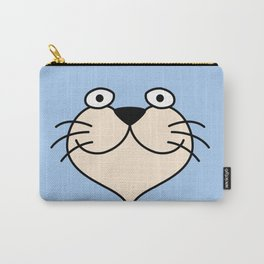 Cat Face 01 Design 03 Carry-All Pouch