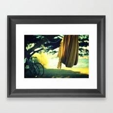 lazy day Framed Art Print