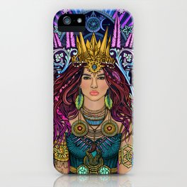 Queen Mother Goddess iPhone Case