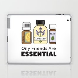 Oily Friends Are Essential Icons Laptop & iPad Skin