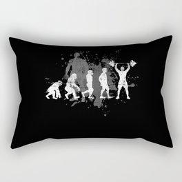 Fitness Gym Weightlifting Rectangular Pillow