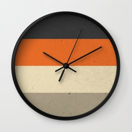 COLOR PATTERN III - TEXTURE Wall Clock