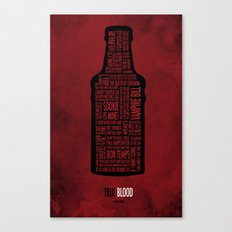 True Blood Canvas Print