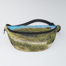 Florida Beach Greens Fanny Pack