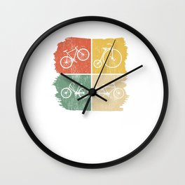 Bicycle Vintage Retro Bike Wall Clock