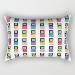 Gameboy Pattern Rectangular Pillow
