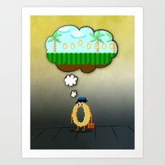Summer Vacation Art Print