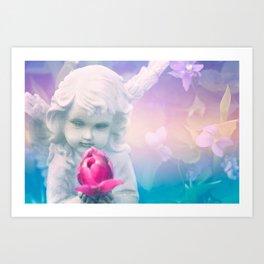 Mermaid Day Dreams Art Print