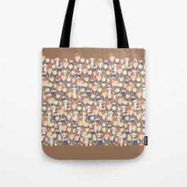 Willy Wonka Pattern Tote Bag