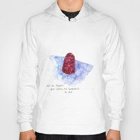 the cure Hoodies featuring berry cure by The Tiny Fishbowl Collection