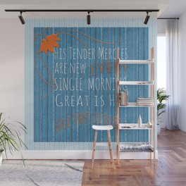 Great is His Faithfulness Wall Mural