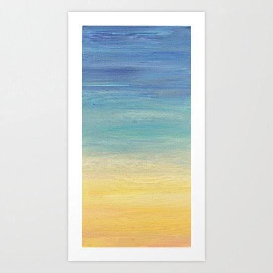 Desert Sunset collection 2 Art Print