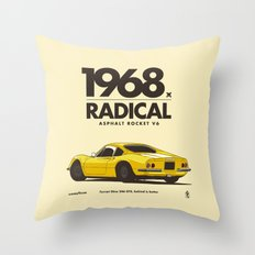 1968 Throw Pillow