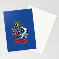The Powerpuft Ghouls Stationery Cards