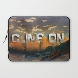 Climb the Mountains Laptop Sleeve