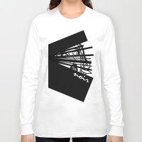 noir Long Sleeve T-shirts featuring Noir by Ryan Bradford