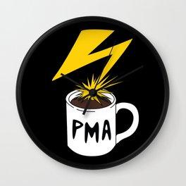 PMA Wall Clock
