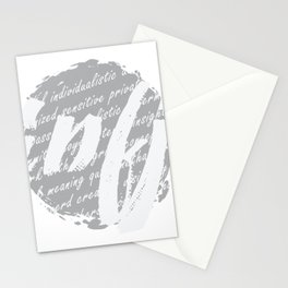 INFJ Introvert design Funny Personality Type Gift Stationery Cards
