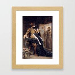 Sir John Everett Millais, Bt Mercy St Bartholomew's Day, 1572 1886 Framed Art Print