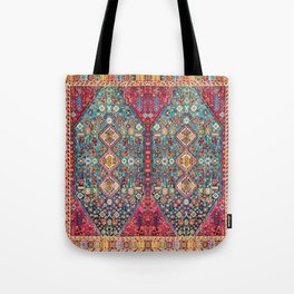 N131 - Heritage Oriental Vintage Traditional Moroccan Style Design Tote Bag