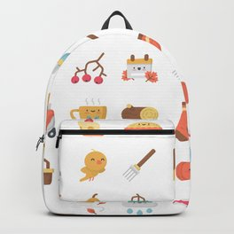 CUTE AUTUMN / FALL PATTERN Backpack