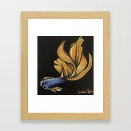 Space beta Framed Art Print