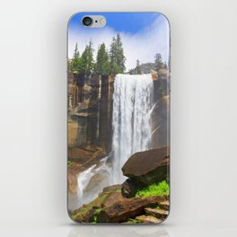 Vernal Fall Yosemite National Park California United States Ultra HD iPhone Skin