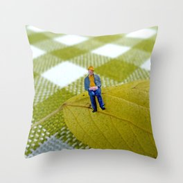 Autumn of Life Throw Pillow