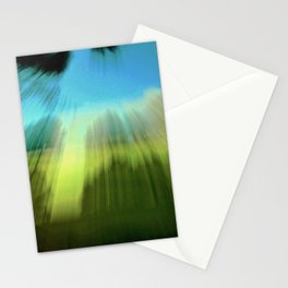 Abstract Victoria Park Costa Mesa CA Stationery Cards