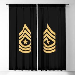 Sergeant Major (Gold) Blackout Curtain