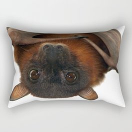 Little Red Flying Fox Hanging Out Rectangular Pillow
