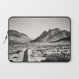 The Lost Highway III Black & White Laptop Sleeve