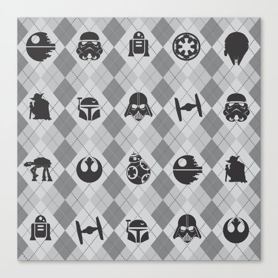 Galactic Pattern Canvas Print