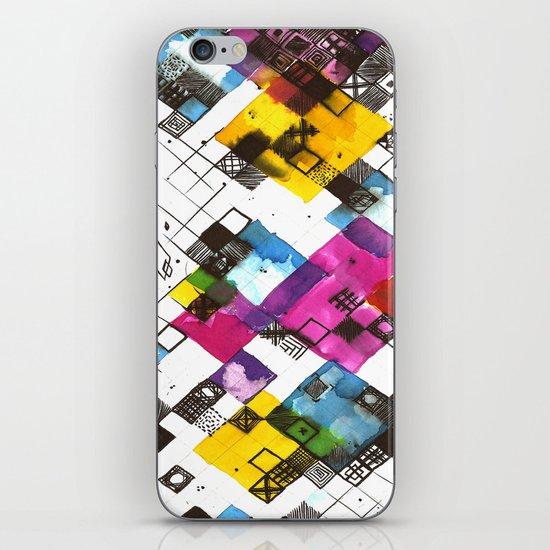 Ink Kaleidoscope iPhone & iPod Skin