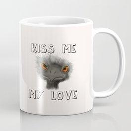 Kiss Me, My Love Coffee Mug