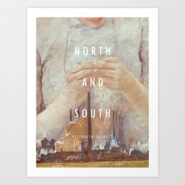 19th Century Women Writers - North and South Art Print