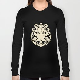 Anchor Octopus - Sailor Jerry Themed Anchor T-Shirts Long Sleeve T-shirt