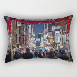 Tokyo Streets Rectangular Pillow