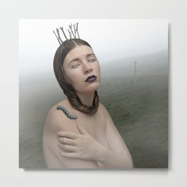 Lady of the Valley Metal Print