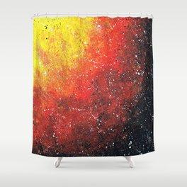 solar storm Shower Curtain