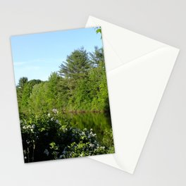 small pond Stationery Cards