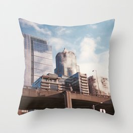 Seattle Steam and Sunshine Throw Pillow
