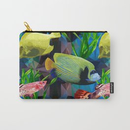 exotic fish in the underwater world Carry-All Pouch