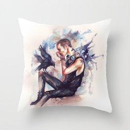 Ronan Lynch Throw Pillow