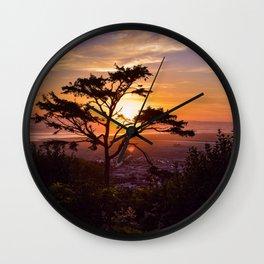 Kalaloch Beach Sunset Wall Clock