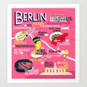 Berlin Map by padillustration