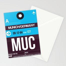 MUC Munich Luggage Tag 1 Stationery Cards